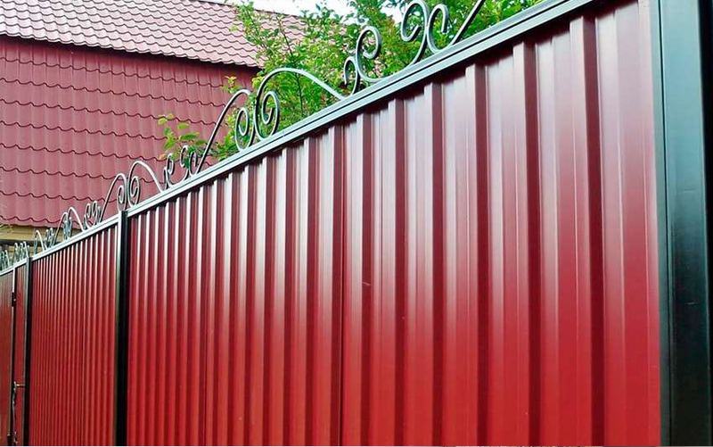 Забор профнастил Калуга